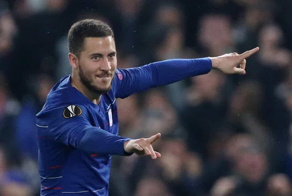 Eden Hazard Europa League Final 2019