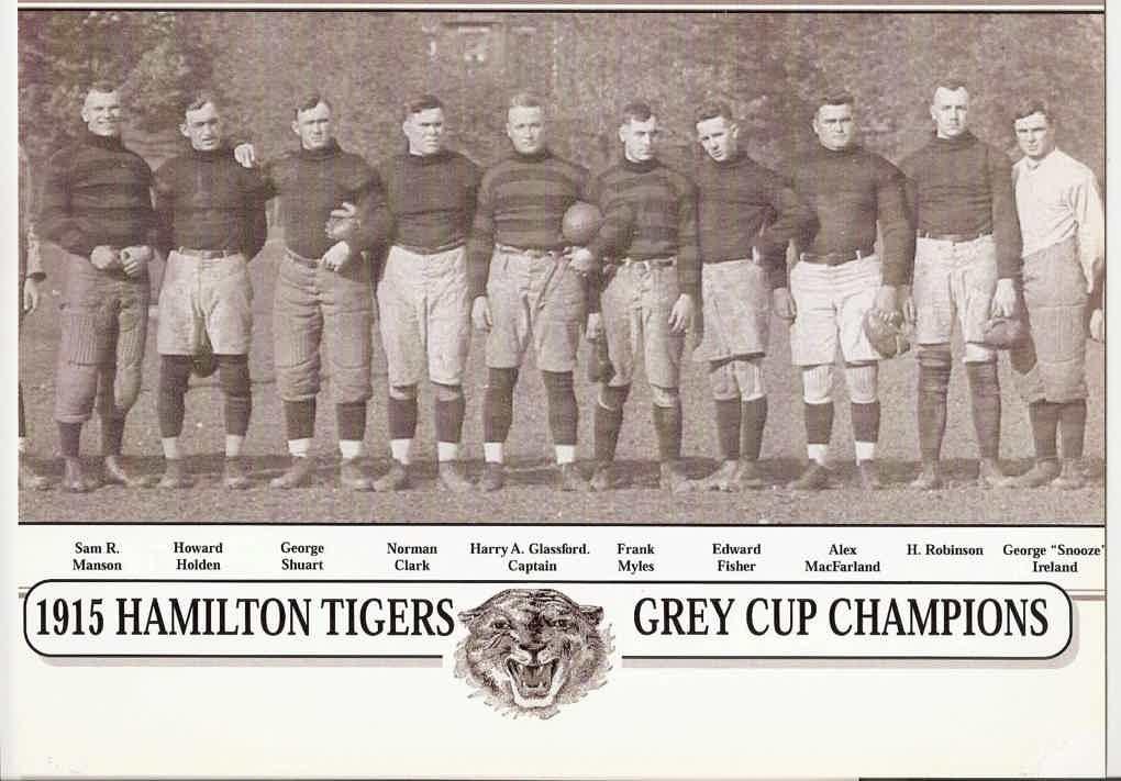 hamilton tiger cats 1915