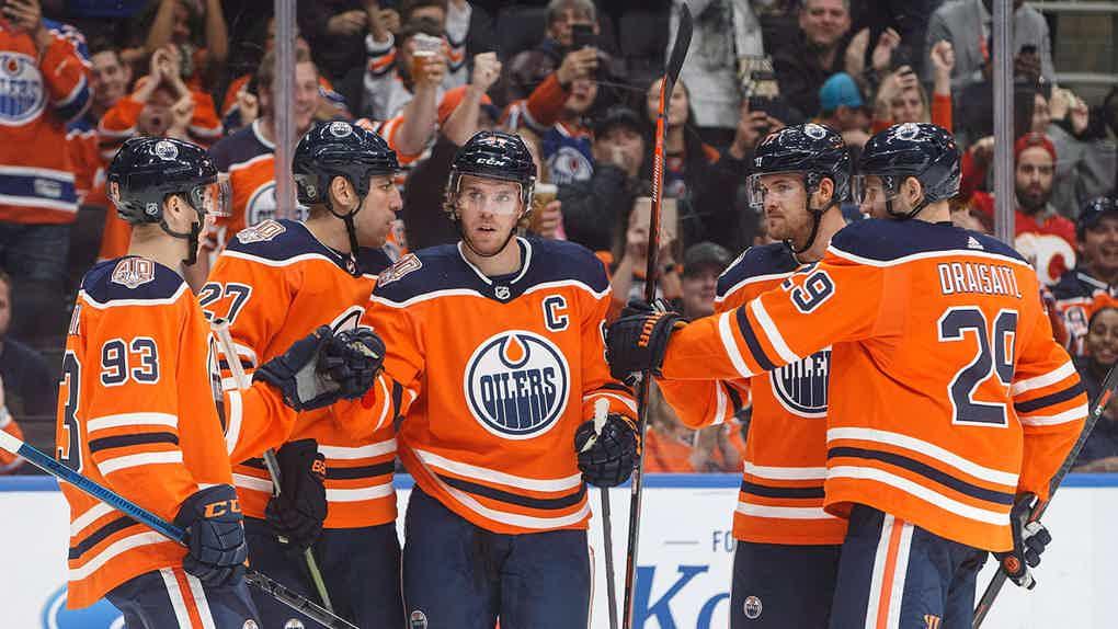 Vegas Odds Oilers