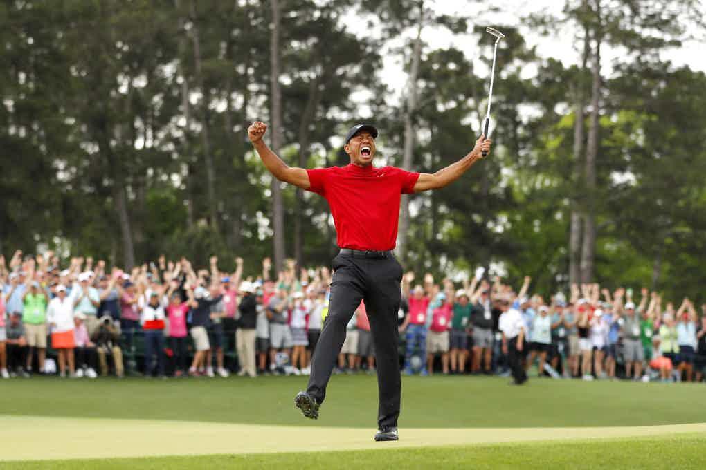 Tiger Wodds Champion