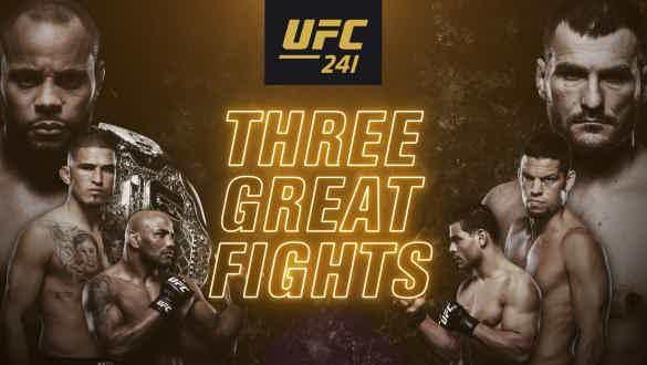 UFC 241 Odds
