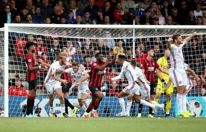 Bournemouth 1 1 Sheffield United