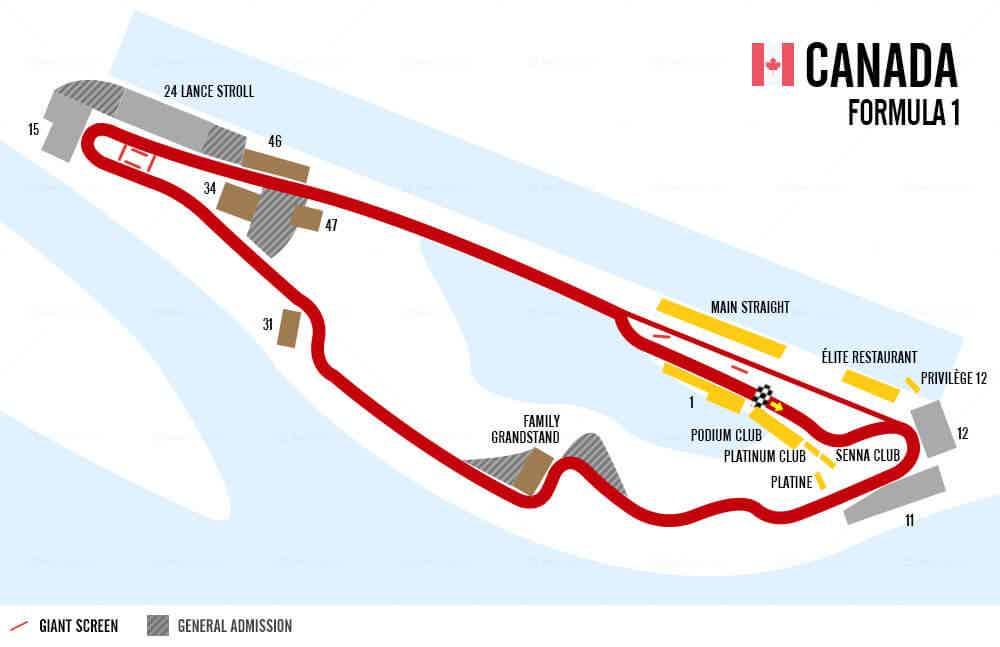 Canadian Grand Prix Betting Odds