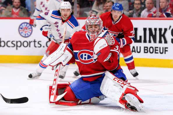 Montreal Canadiens action