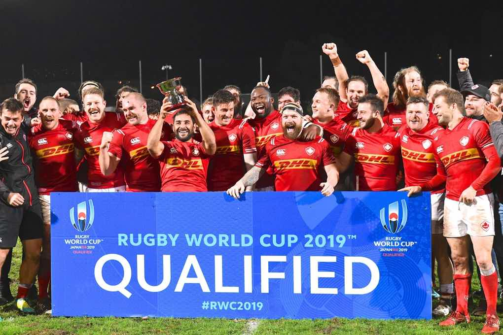 Team Canada Rugby World Cup 2019