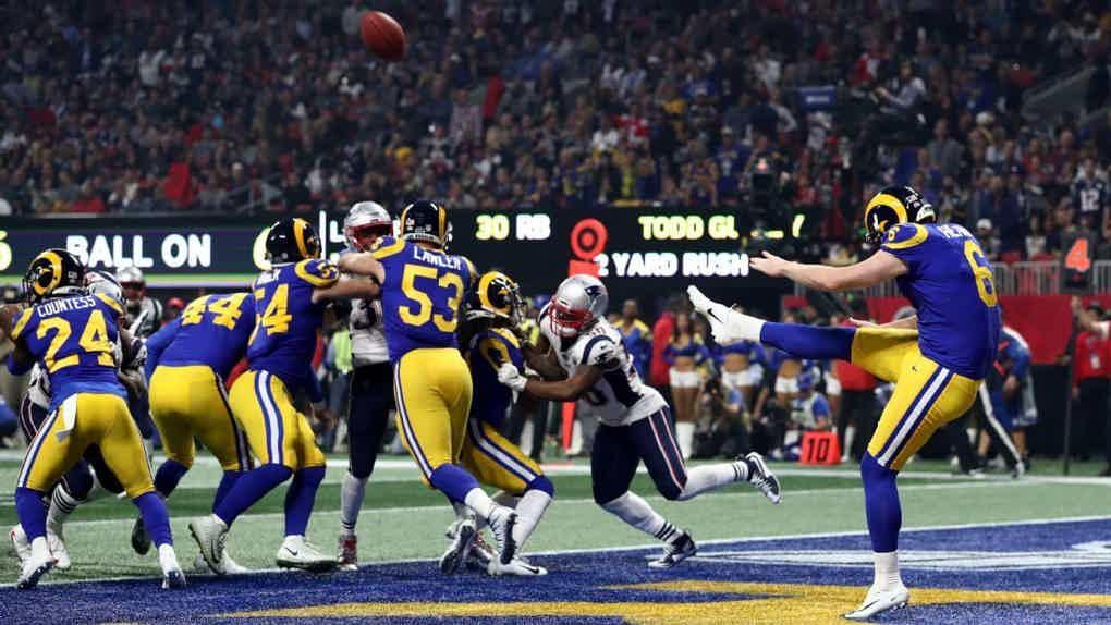 Super Bowl action