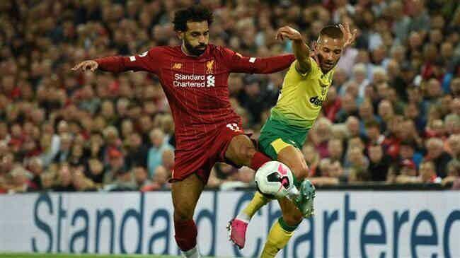 Liverpool 4 1 Norwich